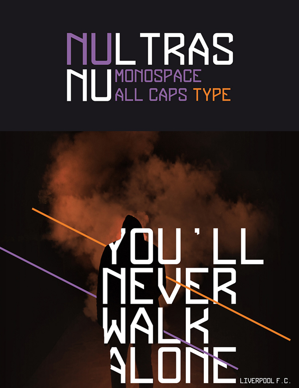 Nultras Free Font