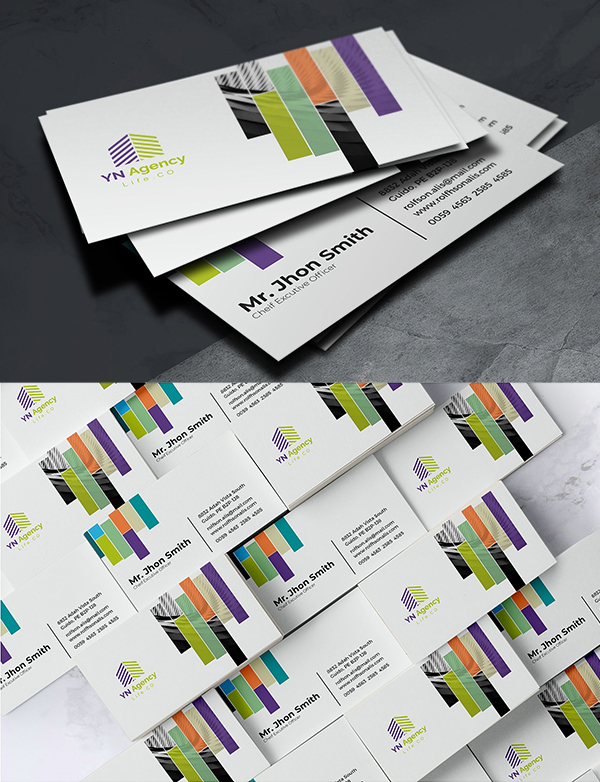 Clean And Minimal Business Card Template