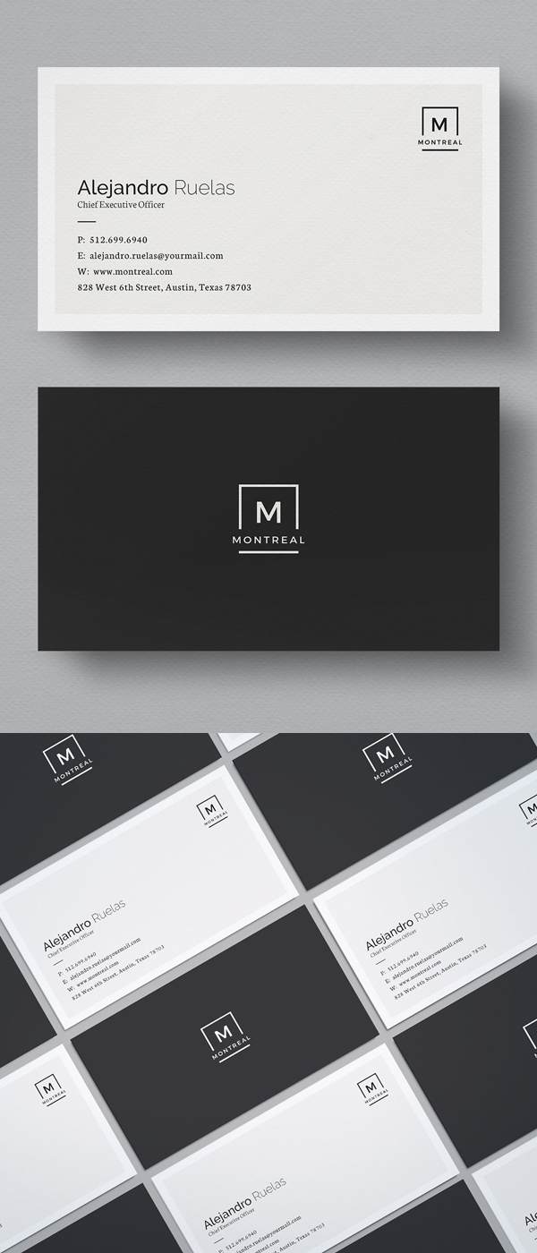 clean business card templates design graphic design junction