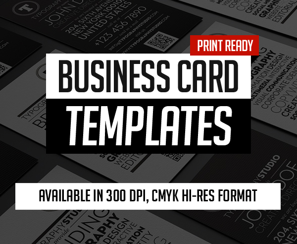 Professional Business Card PSD Templates (25 Print Ready Design)