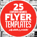 Post Thumbnail of Flyer Templates: Corporate Business Flyer Templates