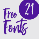 Post thumbnail of 21 Fresh Free Fonts For Graphic Designers