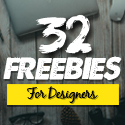 Post Thumbnail of Freebies: 32 Fresh Photoshop PSD Files