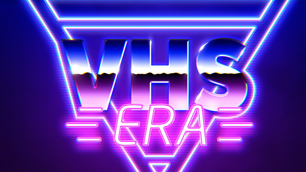 How to Create VHS Retro 80's Photoshop Effect