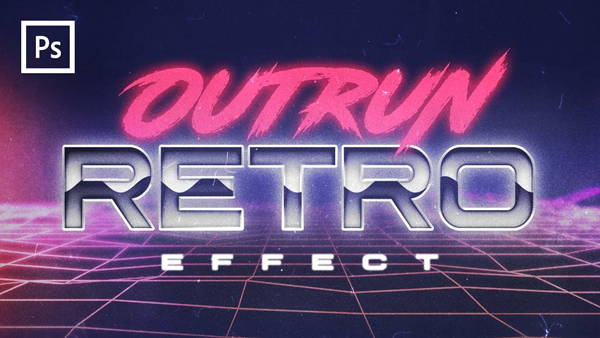 Photoshop Tutorials - 80s Retro Text Effect