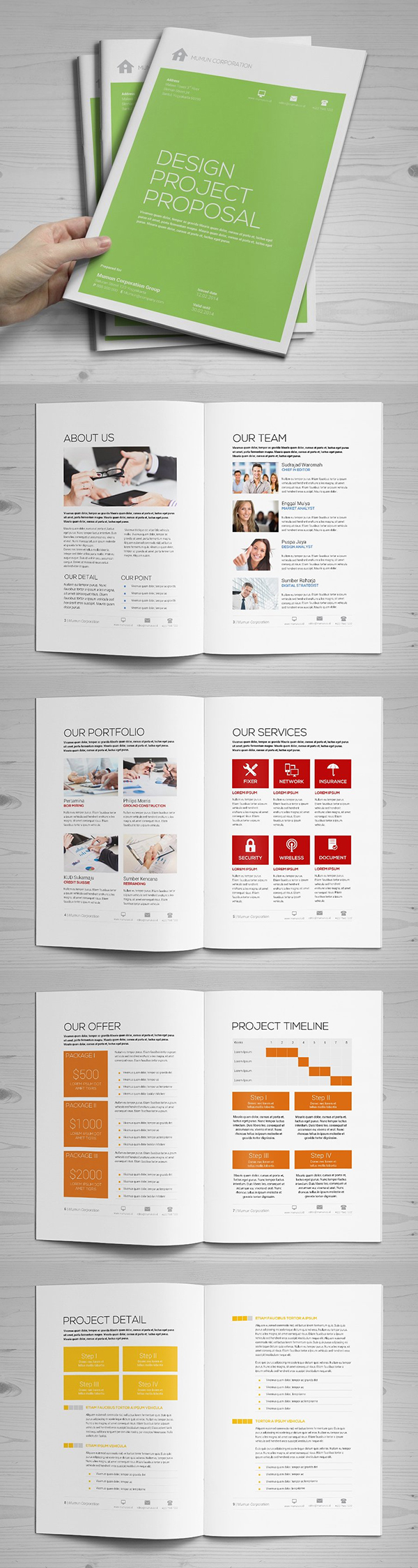 Professional Business Proposal Templates Design - 16