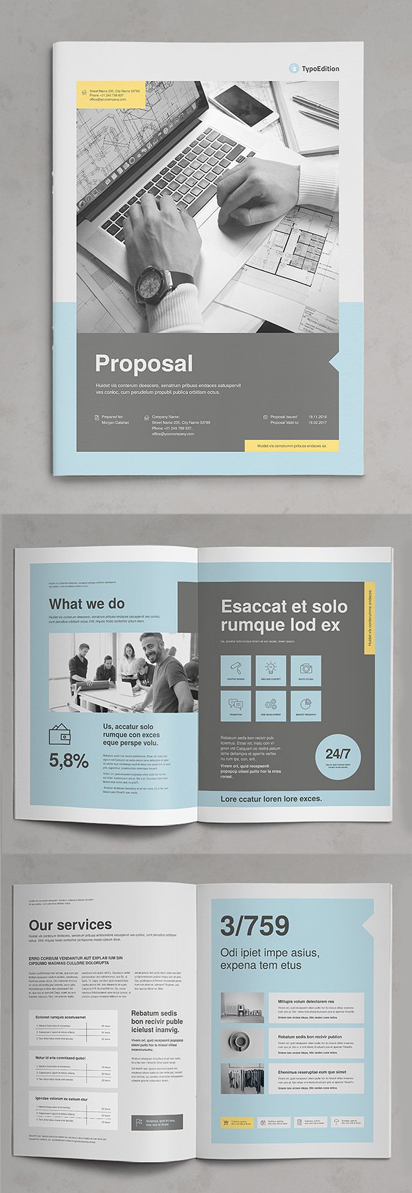 Professional Business Proposal Templates Design - 19