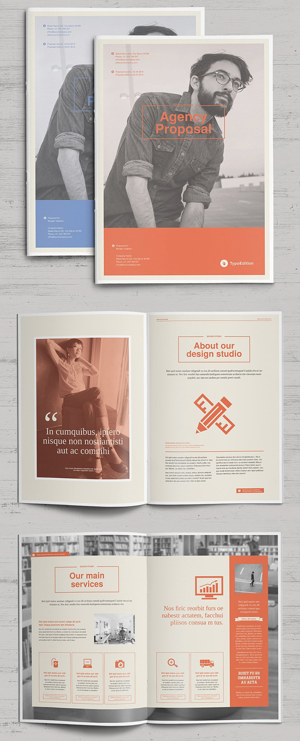 100 Professional Corporate Brochure Templates - 85