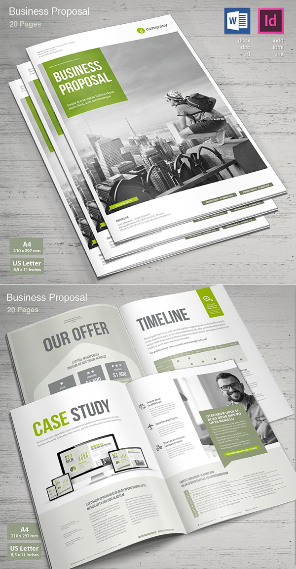 100 Professional Corporate Brochure Templates - 87