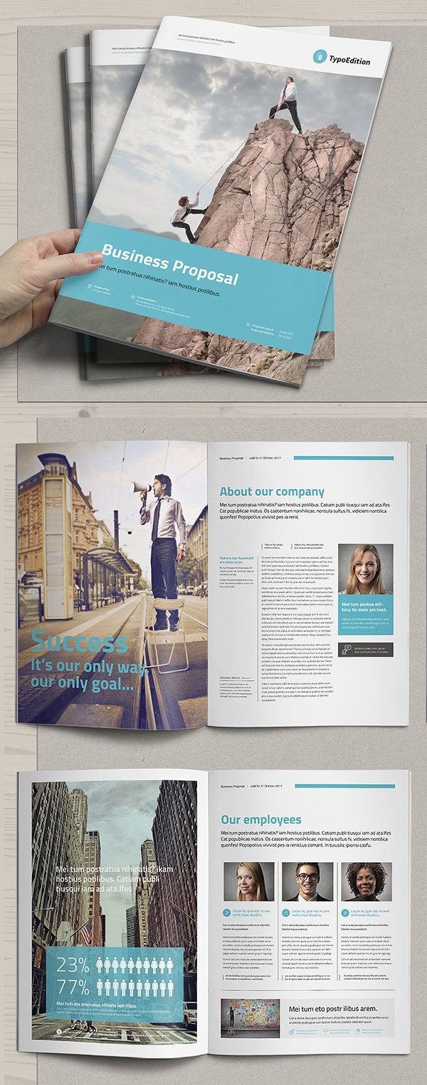 100 Professional Corporate Brochure Templates - 89