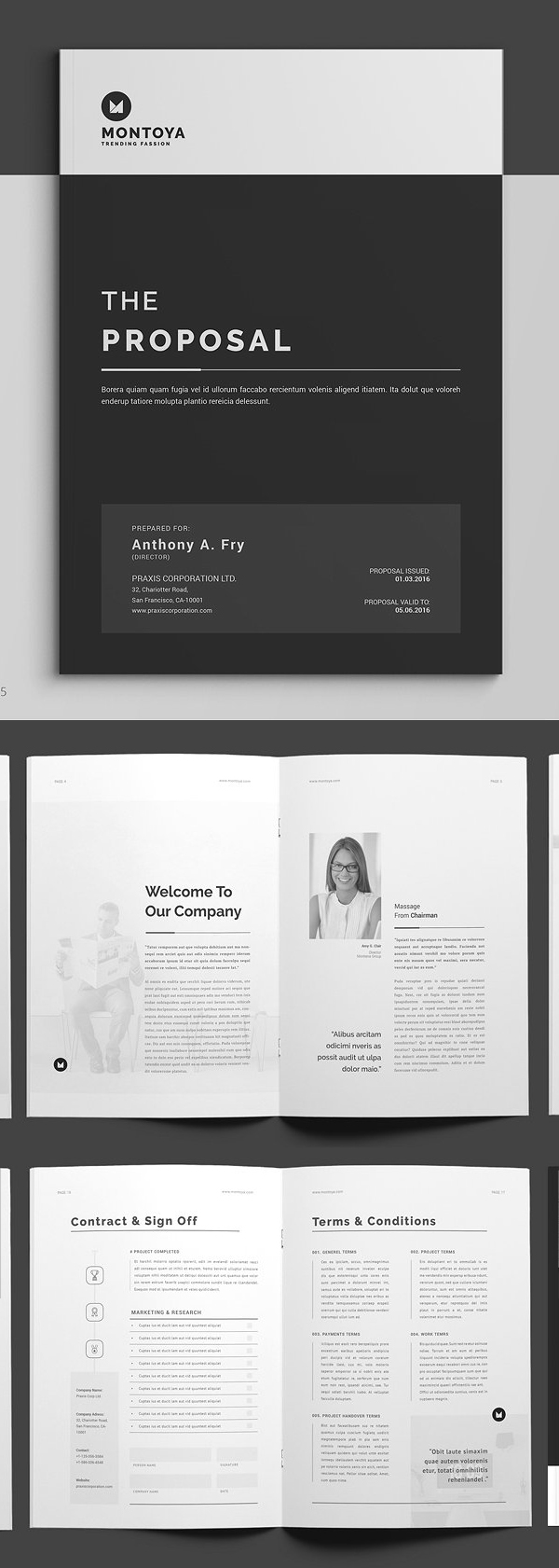 100 Professional Corporate Brochure Templates - 90