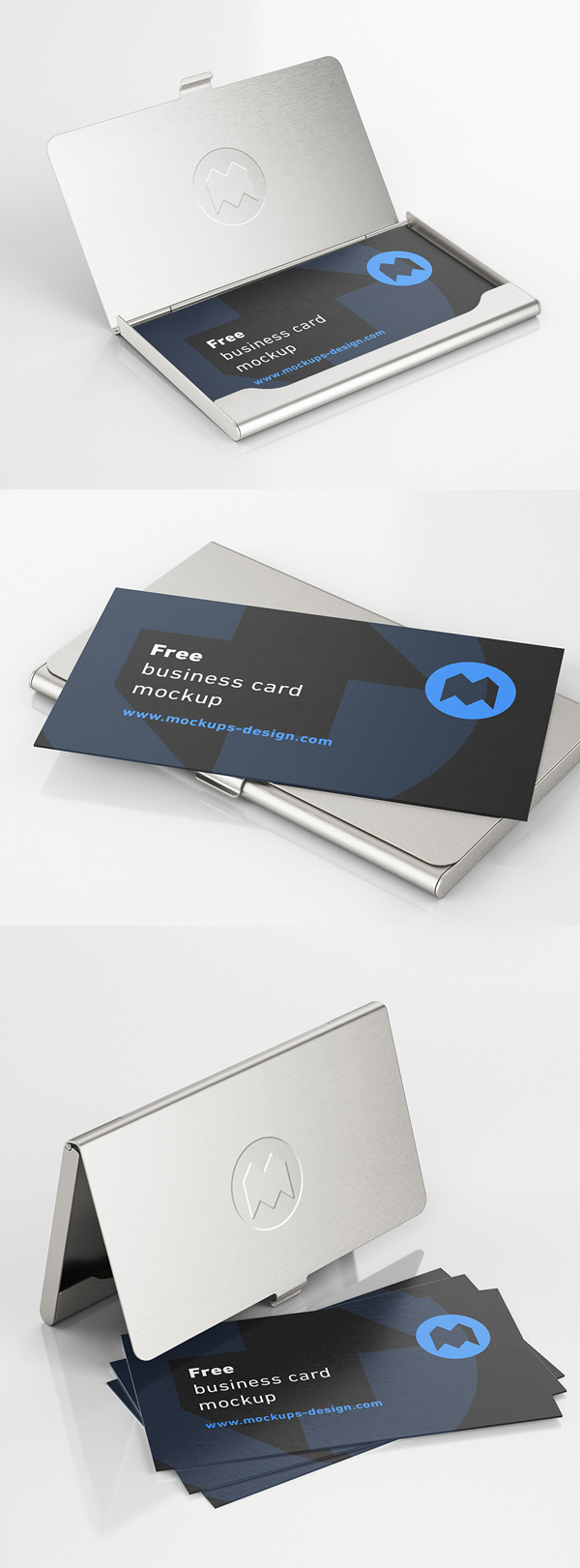 Free business card holder model