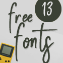 Post thumbnail of Fresh Free Fonts Download (13 Fonts)