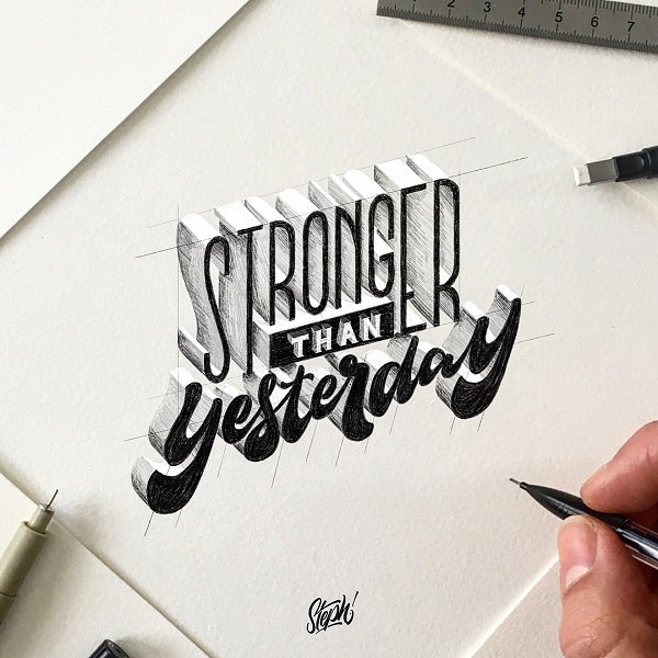 Lettering and Typography Design - 15