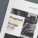 Post Thumbnail of 18 Professional Business Proposal Brochure Templates