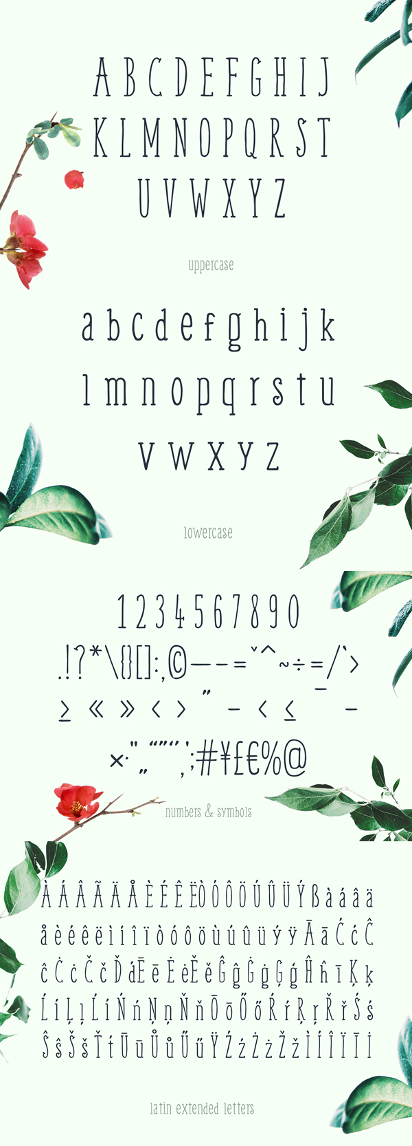 Weem Hand Lettered Font Letters