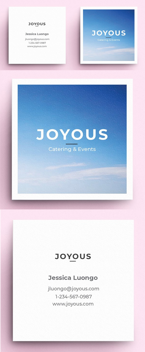 Joyous - Business Card Template
