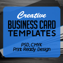 Creative Business Card PSD Templates (28 Print Ready Design)
