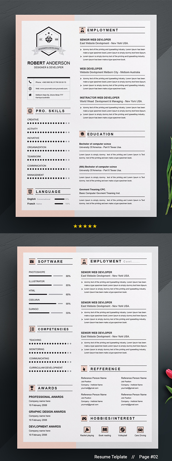 Resume Template | Apple Pages