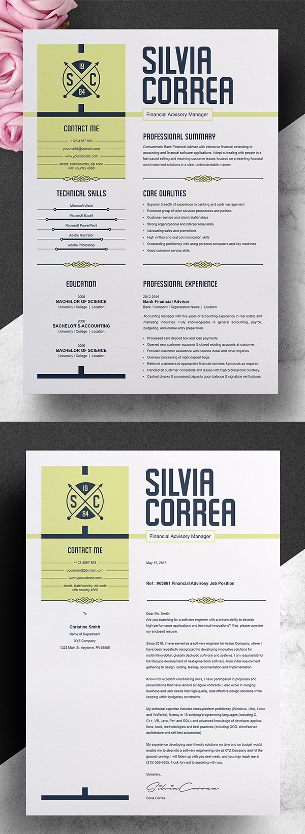 Modern & Professional Resume Design
