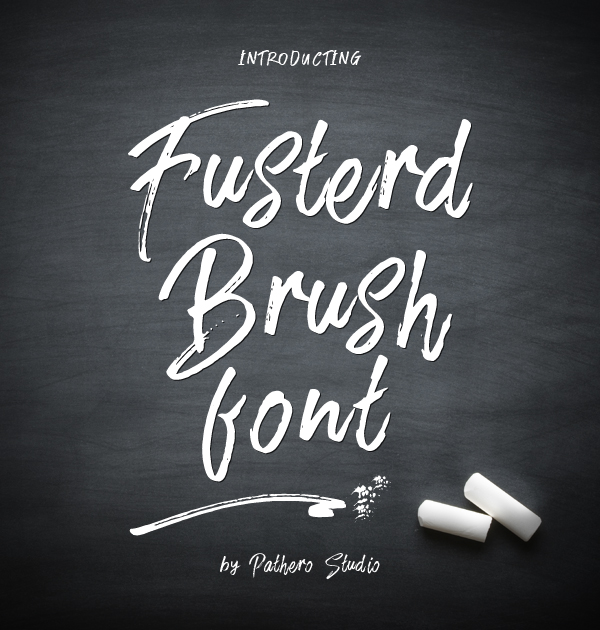 Fusterd Brush free fonts