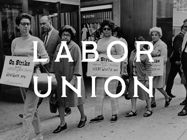 Labor Union free fonts