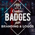 Post thumbnail of Creative Badges for Branding and Logos – 28 Examples
