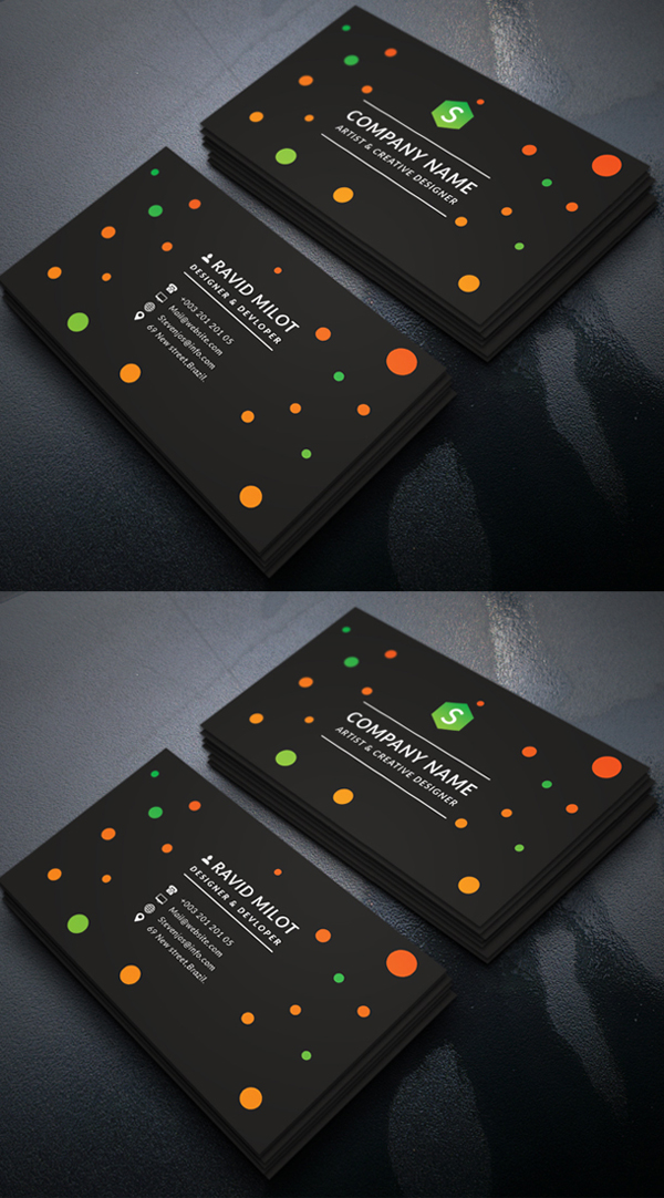 80 best of 2017 business card designs design graphic for Best design