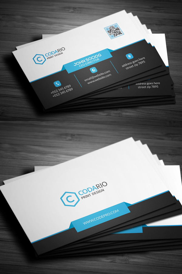 Graphic design junction on feedspot rss feed modern corporate business card reheart Image collections