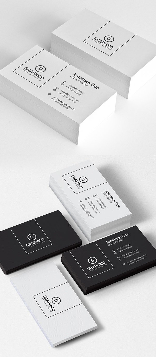 Corporate Minimal Business Card