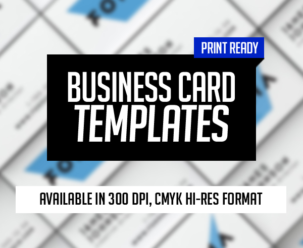 New Business Card Templates (25 Print Ready Design)