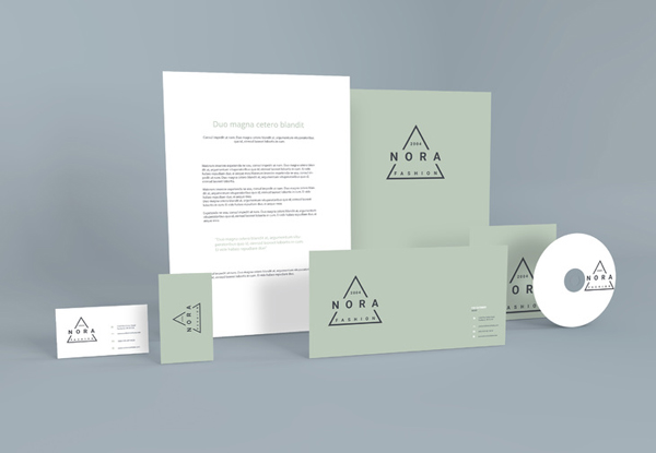 Free Standing Stationery PSD Mockup Template