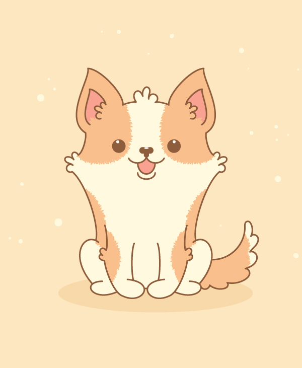 How to Create a Cute Welsh Corgi in Adobe Illustrator