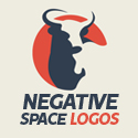 50 Creative Negative Space Logo Designs