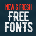 26 New Fresh Free Fonts