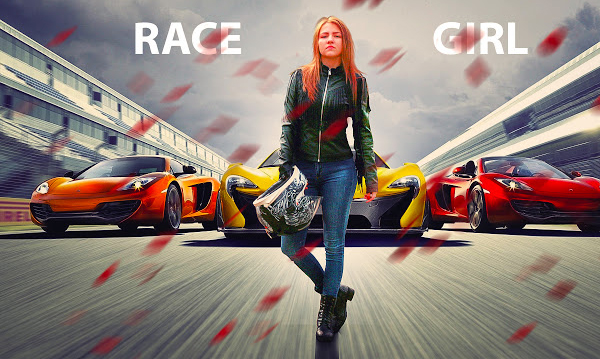 Racer Photoshop manipulation and Editing Photoshop Tutorial