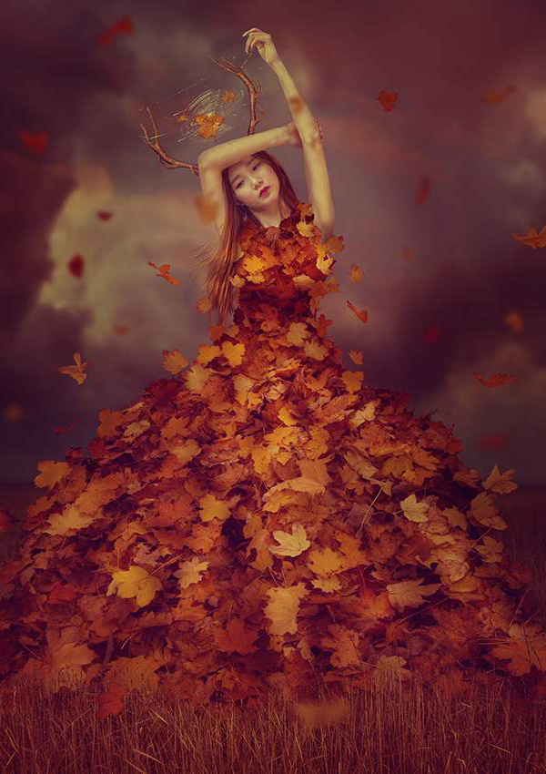How to Create an Autumn Queen Photo Manipulation With Adobe Photoshop