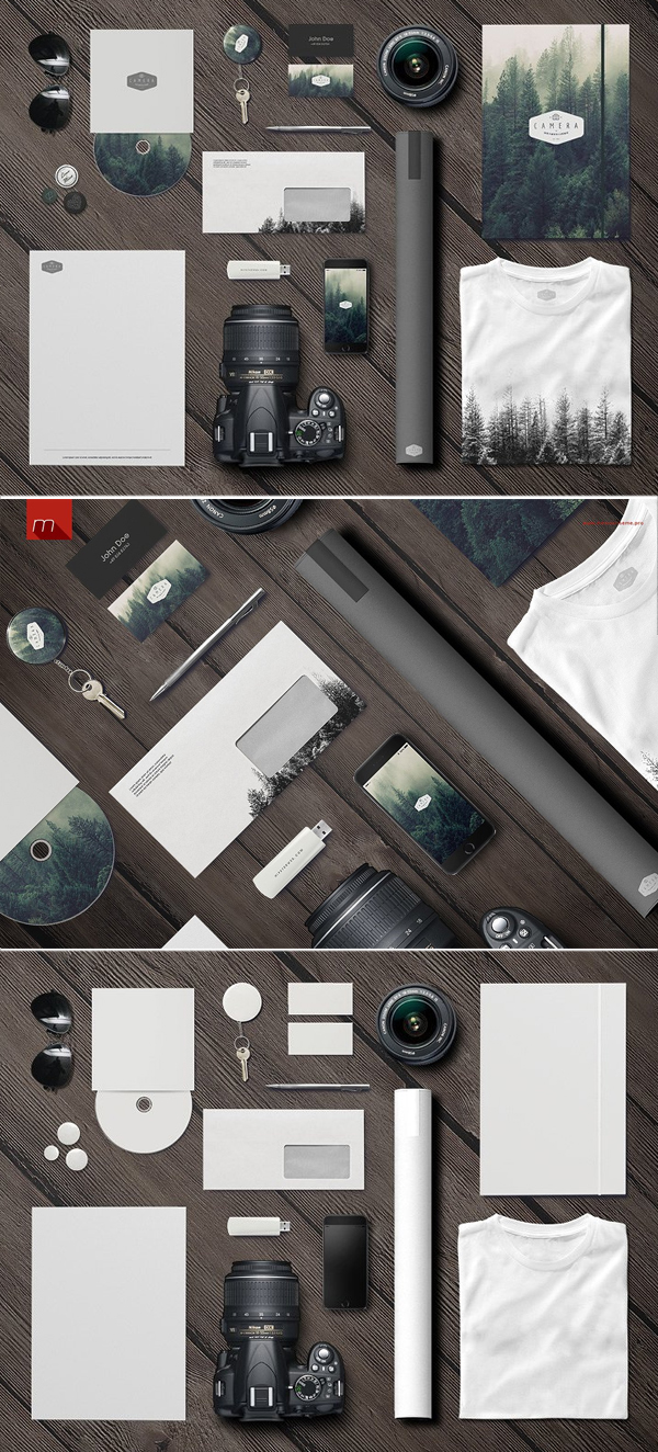 Photographer Identity Mock-up