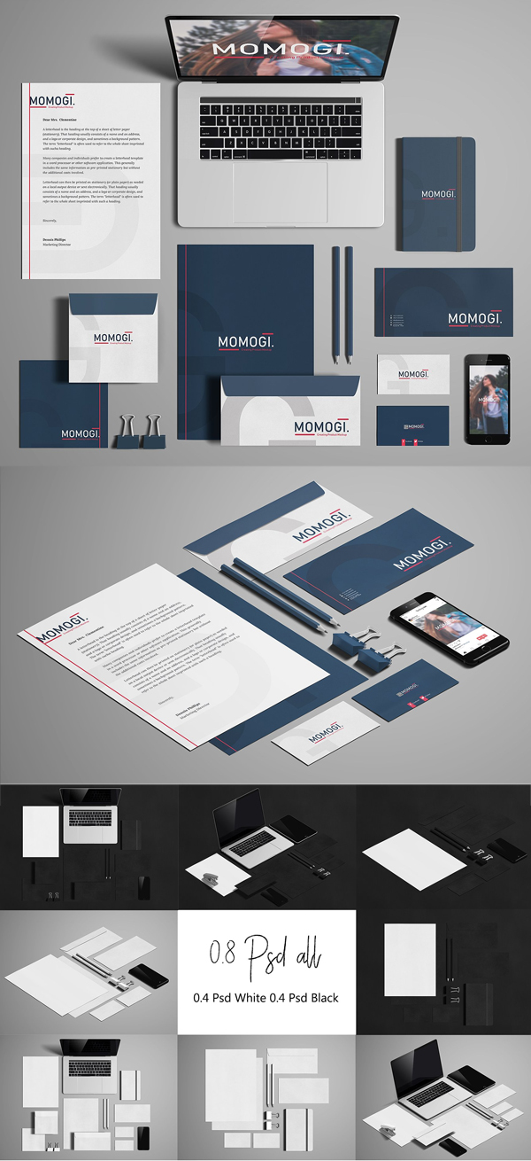 Creative Stationery / Branding Mock-Up