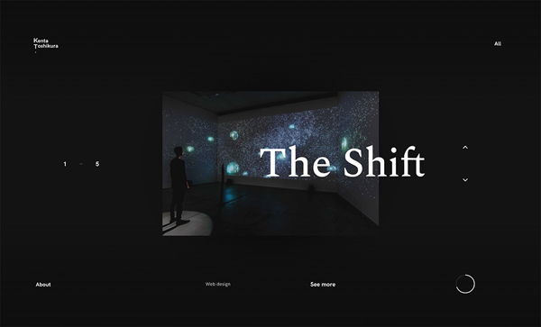 Web Design Trends 2018 : 37 New Examples - 34