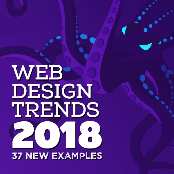 Web Design Trends 2018 – 37 New Examples