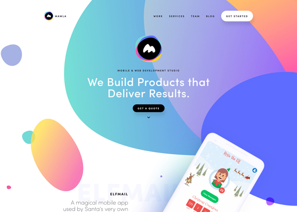 Web Design Trends 2019 - 32 New Examples - 17