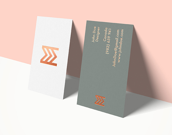 Business Card Mockup - 1