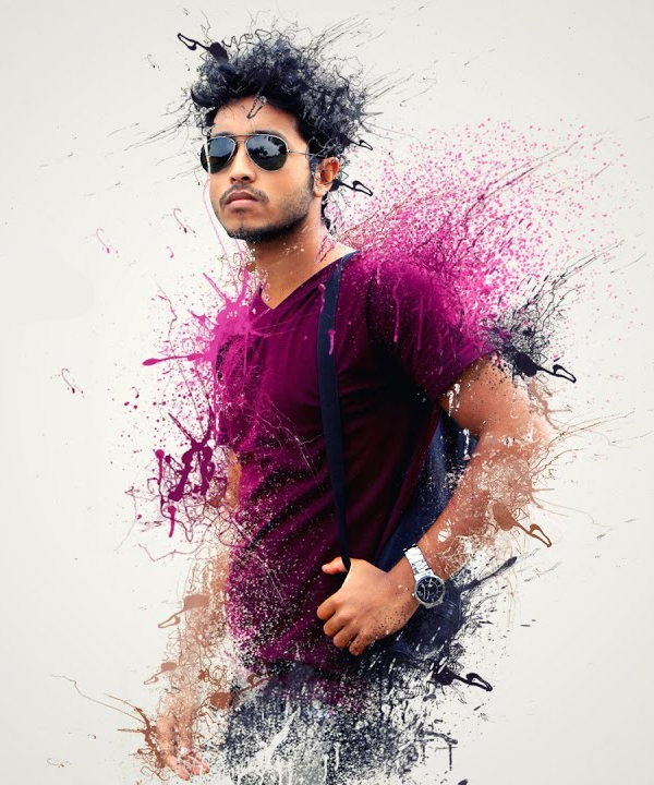 How to Create Splatter / Dispersion Photo Manipulation in Photoshop Tutorial