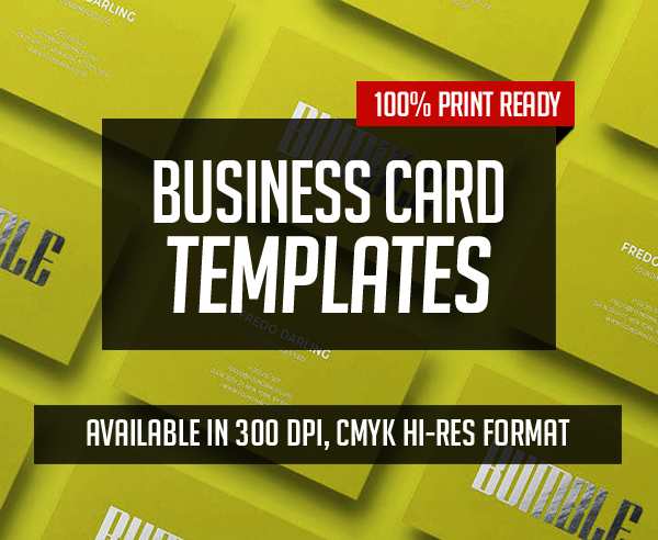Professional Business Card Templates – 25 Print Ready Design