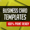 Post Thumbnail of Professional Business Card Templates - 25 Print Ready Design