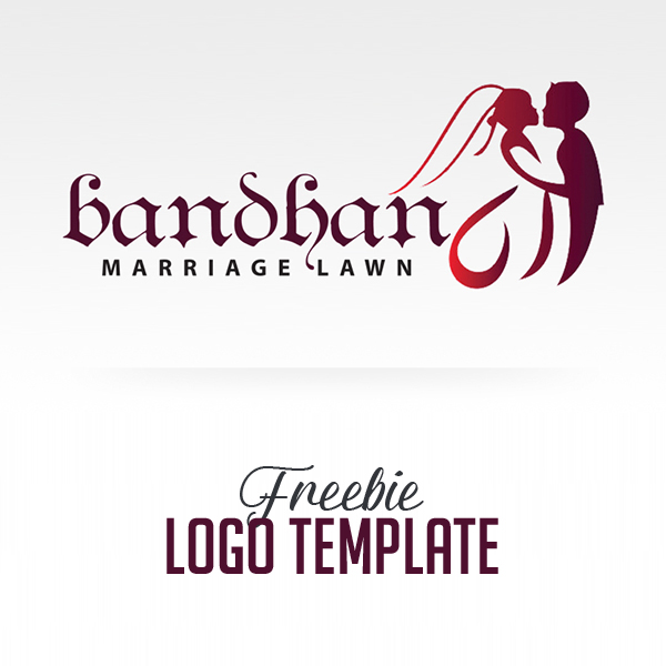 Freebie: Luxury Wedding Logo Template (PSD)