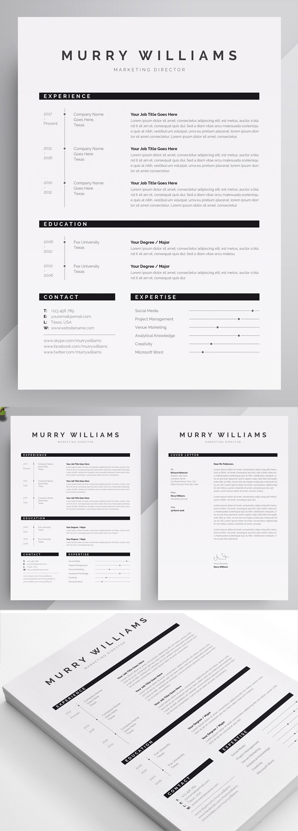 Murry Williams Resume Template