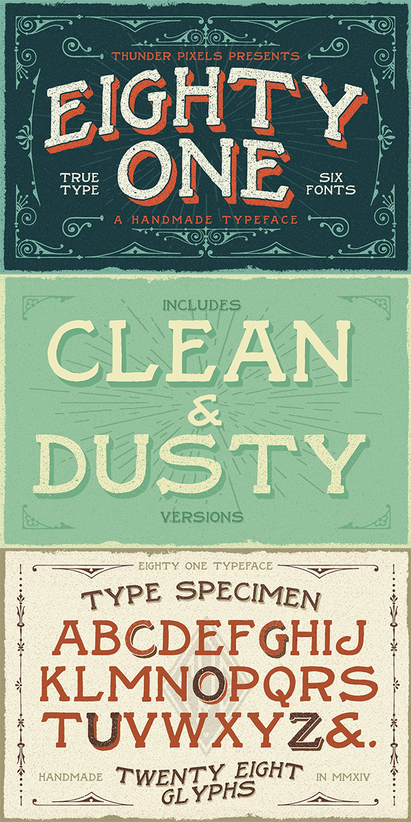 Eighty One Typeface