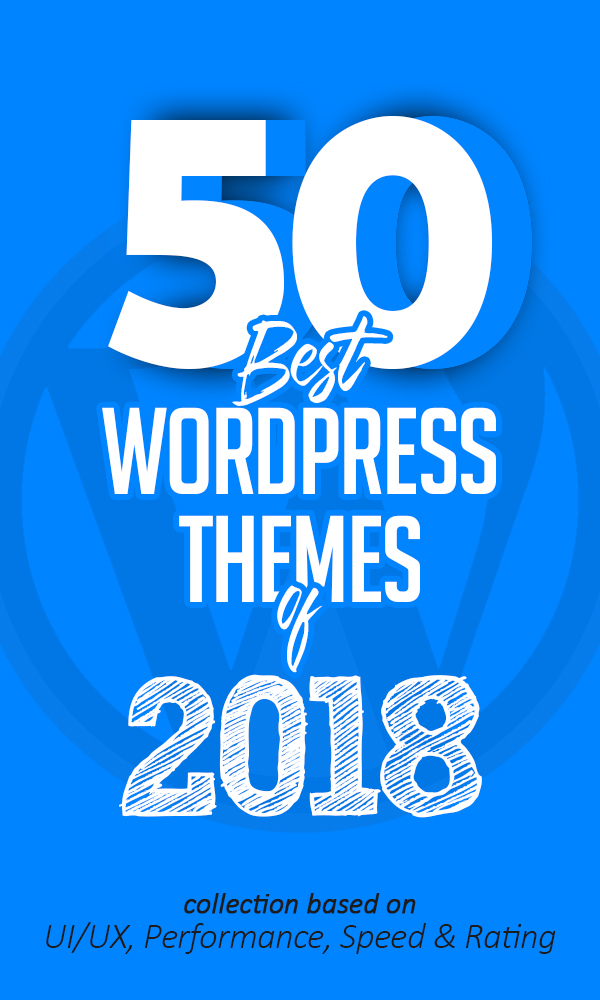 50 Best WordPress Themes Of 2018